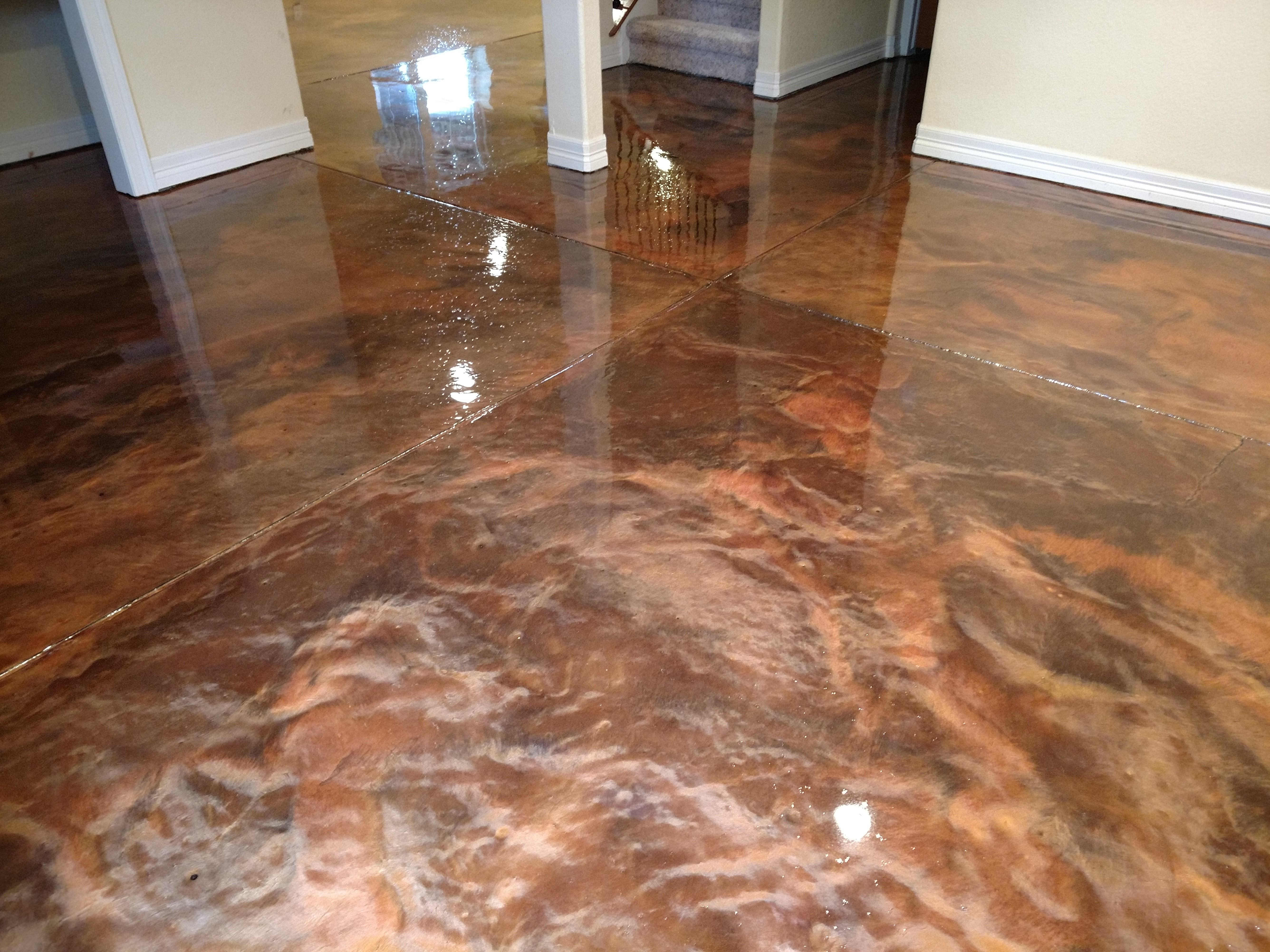 Metallic Flooring Application Ft Collins Windsor Co