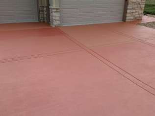 Outdoor Concrete Staining